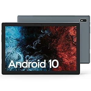 VASTKING KingPad K10 10 inch Tablet, Android 10, 1920x1200 Resolution Octa Core Tablet, Up to 1.8Ghz, 3GB RAM, 32GB ROM, 13MP Rear Camera, Bluetooth 5.0, 2.4G&5G Wi-Fi, GPS, Full Metal Body, Ash Grey by Vastking