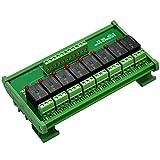 ELECTRONICS-SALON montaje en carril DIN 8 SPDT Relé de potencia del módulo de interfaz, ...