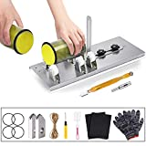 Glass Bottle Cutter - Glass Cutter Tools for Cutting Wine Beer Whiskey Alcohol Champagne Water Bottles with Glass Cutter Tool Kit Gloves Fixing Rubber Ring