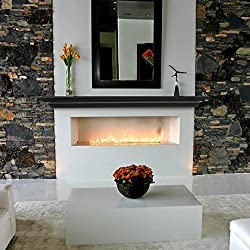 """commercial Pearl Mantelpiece 618-60B Crestwood Wall Shelf 60 """"Black 60"""" floating mantels fireplaces"""