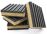 PneumaticPlus Anti Vibration Rubber & Cork isolation pads,...