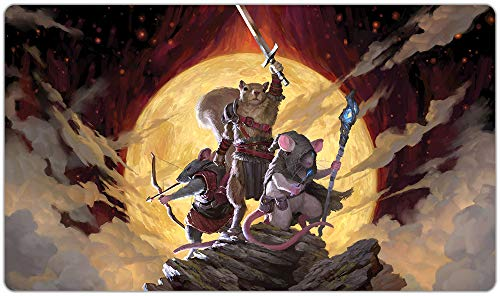 Quest Playmat Inked Gaming TCG Game Mat for Cards (13+)