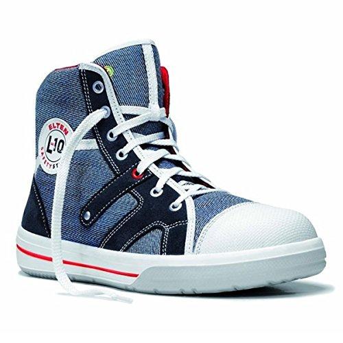 Elten Sneaker L10 Jeans Mid S2 Sicherheitsschuhe 76105, Schuhgröße:42 (UK 8)