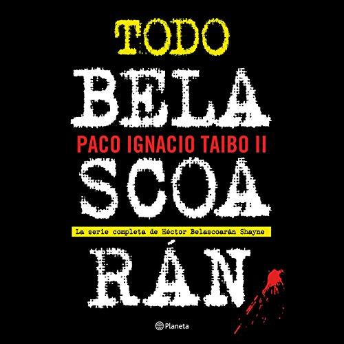 Todo Belascoarán audiobook cover art