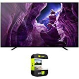 Sony XBR65A8H 65-inch A8H 4K OLED Smart TV (2020) Bundle with 1 Year Extended Protection Plan