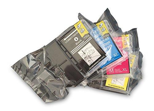 10x Kompatible Drucker Tintenpatronen für Brother MFC-490CW - 2x Cyan / 2x Gelb / 2x Magenta / 4x Schwarz