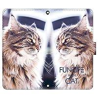 iPhone11 ケース [デザイン:3.長毛猫/マグネットハンドあり] 猫 ネコ ねこ アイフォン11 ip11 手帳型 スマホケース スマホカバー 手帳 携帯 カバー