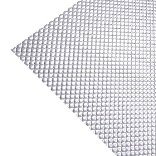 KastLite Clear Acrylic Prismatic Lighting Panel - Heavy Duty | 22.5' x 46.5' | .125' Thick | Fluorescent Lighting for Overhead Fixtures | 4 Pack