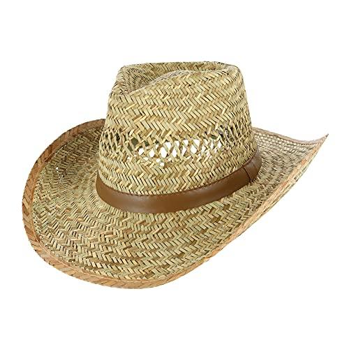 Broner Men s Vented Outback Hat, Large, Natural