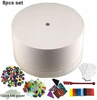 8pcs Set of Large Microwave Kiln Kit For Glass Fusing - Kiln