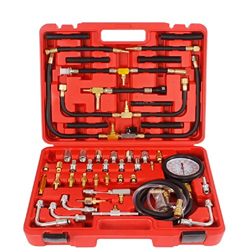 Lowest Price! MRCARTOOL TU-443 Multifunction Fuel System Pressure Gauge fuel Injection Pressure Test...