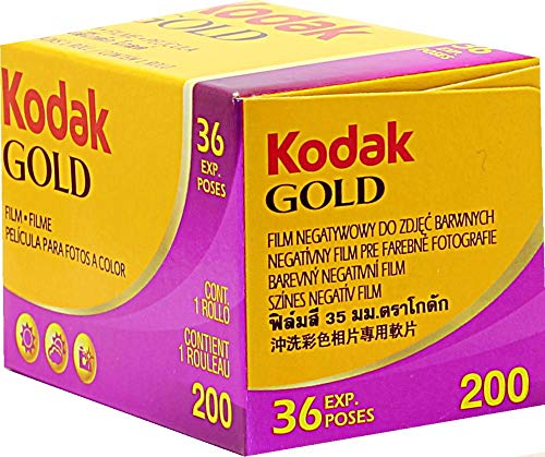 Kodak Kodacolor Gold 200 - Película fotográfica Color