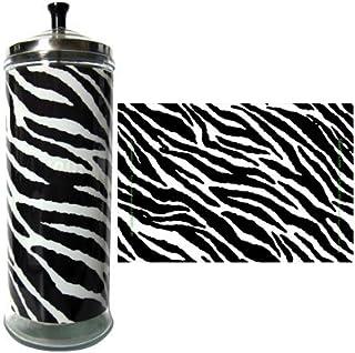 Salon Skins Decorative Barbicide Jar Wrap (Zebra) - Fits Large Barbicide Jar Only