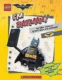 I'm Batman! The Dark Knight's Activity Book with Stickers (The LEGO Batman Movie)