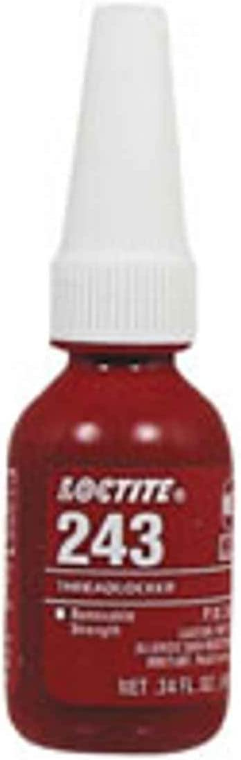 Loctite 243 Medium Strength Ranking TOP11 Blue Threadlockers 4 3 We OFFer at cheap prices Th mL 10 in
