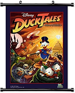 Duck Tales Remastered Game Fabric Wall Scroll Poster (32x46) Inches