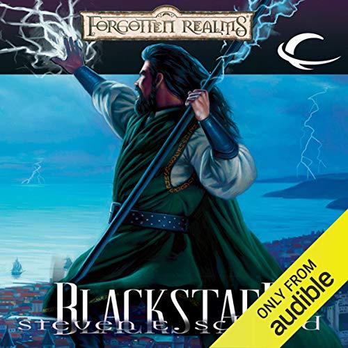 Blackstaff audiobook cover art