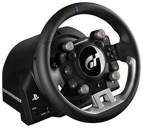Thrustmaster T-GT T700 Rs Gt UK Sterzo + Pedali PC, PlayStation 4 Nero