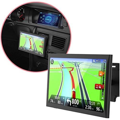 MONTOLA Navihalterung mit Magnet fürs Auto - magnetische Lüftungshalterung Navihalter - Navi Halterung Navigationsgerät Auto Halterung für Navi kompatibel mit Garmin Tomtom Becker Navigon