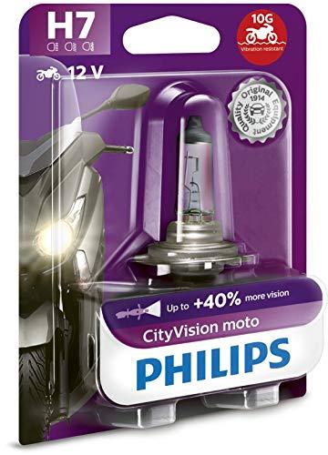 Philips CTVBW City Vision Moto H4 Koplamp, 1 per blister H7.
