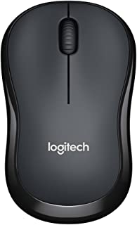Logitech M220 Silent Wireless Mobile Mouse (Charcoal)