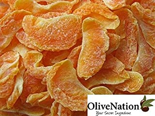 OliveNation Dried Tangerine Wedges, Healthy, Nutritious Gourmet Snack, High in Vitamin C- 16 ounces