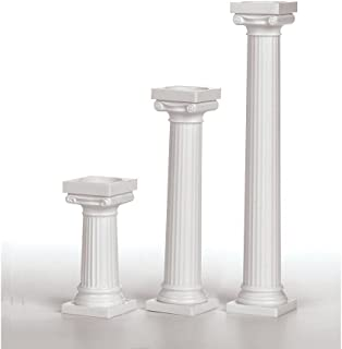 plastic roman columns sale