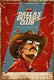 Wild boy Dallas Buyers Club Jahrgang Retro Werbung Metall