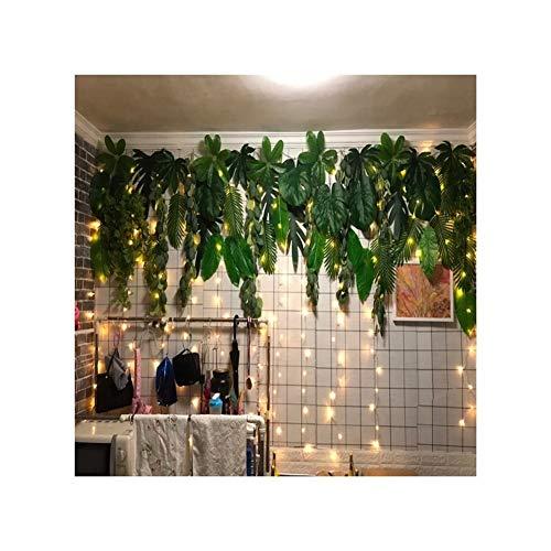 CHENZA Iluminación de Vacaciones 3m DIRIGIÓ Luces de Hadas Garland Cortina Lámpara de Control Remoto USB Luces de Cadena Año Decoraciones navideñas for la Ventana del Dormitorio del hogar