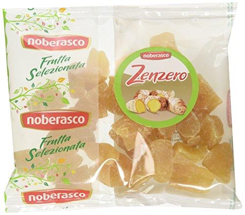 Noberasco 03165 Zenzero Frutta Selezionata - Confezione da 10 Pezzi da 250G- Zenzero Disidratato