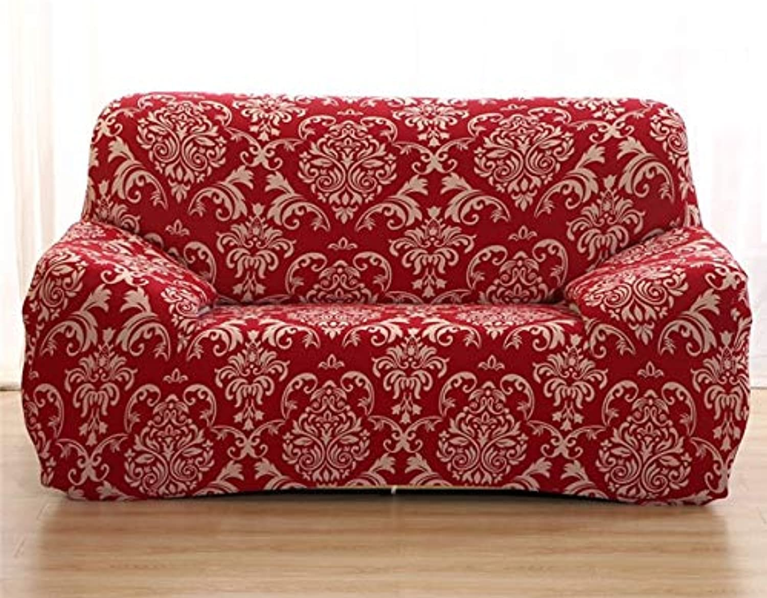 Baroque Pattern Elastic Spandex Slipcovers Sofa Sectional Cover ...