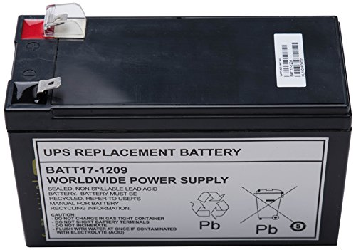 UPS Replacement Battery for APC UPS Models BE650G, BE750G, BR700G,...