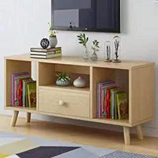 Hicy 2-Tier Media TV Stand Entertainment Center Storage Console