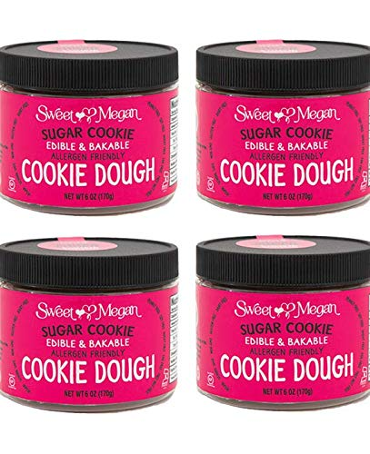 Sweet Megan Sugar Cookie Dough 6oz - 4pack