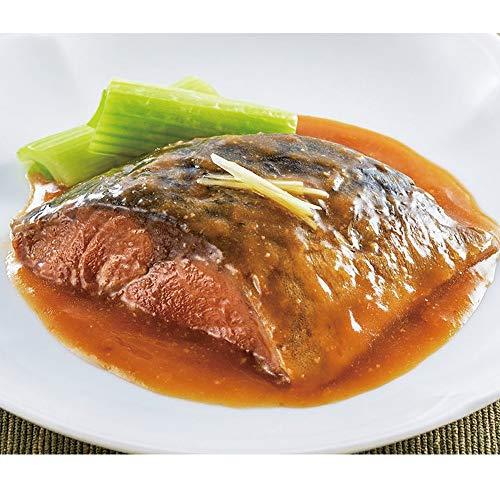 やわらか煮魚 サバ味噌煮 350g (5切入) 22165