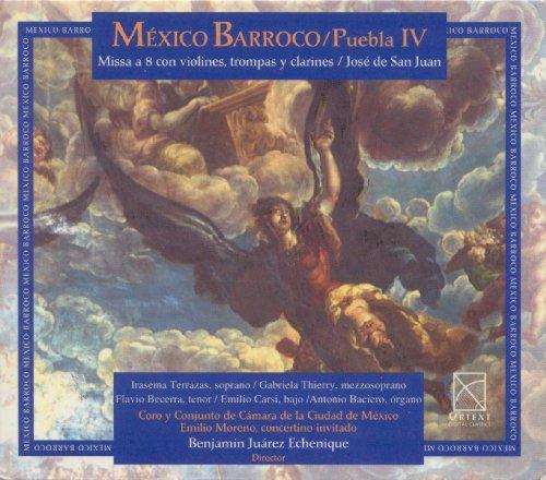 Coro Y Conjunto De Camara D Moreno - Mexico Barroco / Puebla Iv