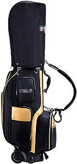 Golf Bag حقيبة جولف مع عجلات للرجال نساء سهلة لتحمل حقيبة عربة الجولف حقيبة نادي الغولف دائم للسفر تحمل 11-13 الأندية Golf...