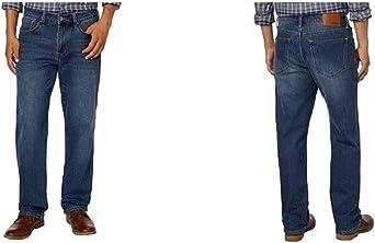 Amazon Com Weatherproof Vintage 1948 Fleece Lined Jeans Classic Straight Leg Clothing
