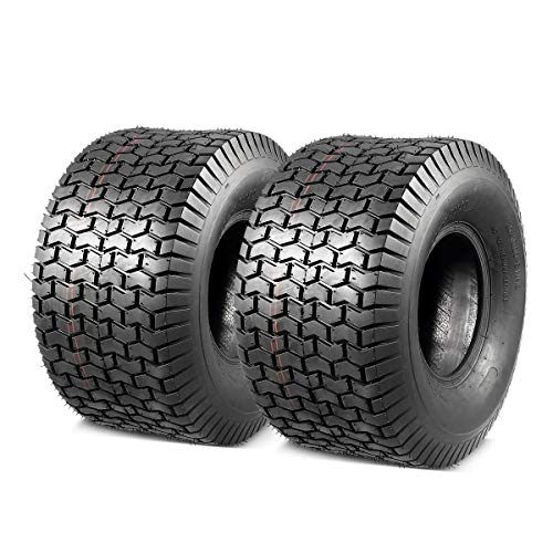 MaxAuto 2 Pcs 20x10-8 20x10x8 Lawn Mower Cart Turf Tires 4 Ply P512