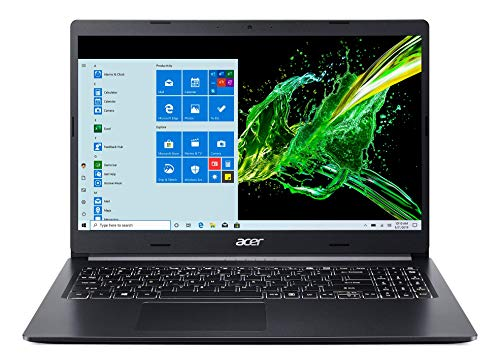 "Acer Aspire 5 A515-55-56VK, 15.6"" Full HD IPS Display, 10th Gen Intel Core i5-1035G1, 8GB DDR4, 256GB NVMe SSD, Intel Wireless WiFi 6 AX201, Fingerprint Reader, Backlit Keyboard, Windows 10 Home"