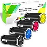 4 Colori Cartucce di Toner Compatibile per Xerox C500 C505 Series (Nero Ciano Magenta Giallo) GREENPRINT 5000 Pagine per il Nero e 2400 Pagine per C/M/Y per stampanti laser Xerox VersaLink C500 C505