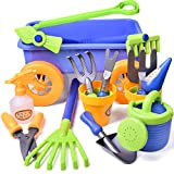 Product Image of the FUN LITTLE TOYS Kid's Garden Tool Toys Set, Beach Sand Toy, Kids Outdoor Toys,...
