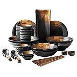 Schüssel Retro Keramik Geschirr Set Suppenschüssel