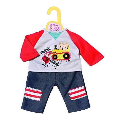 Zapf Creation 870518 Dolly Moda Hose mit Sweatshirt, Puppenkleidung 39-46 cm