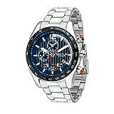 SECTOR Herren Chronograph Quarz Uhr mit Edelstahl Armband R3273794010