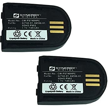 Synergy Digital Battery Compatible For Plantronics 82742-01 Cordless Phone Combo-Pack includes  2 x EM-CPP-547 Batteries