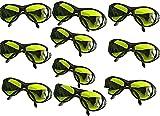 10 PCS 200nm 2000nm IPL Laser Protective Goggles Safety Glasses OD5+ CE UV400 BP-6006