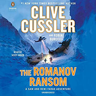 The Romanov Ransom audiobook cover art