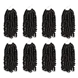 The BOHOBABE Pre-twisted Passion Twist Crochet Hair 8...