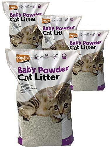 Karlie Katzenstreu Babypuderduft 28 KG Baby Powder CAT Litter